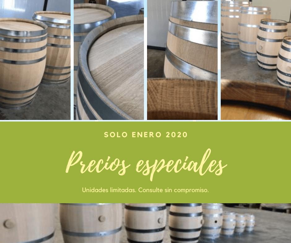 barricas a precios especiales