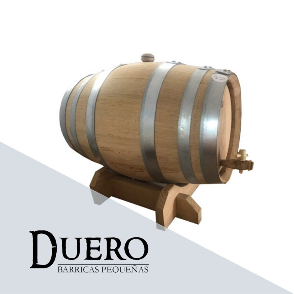 small oak barrels
