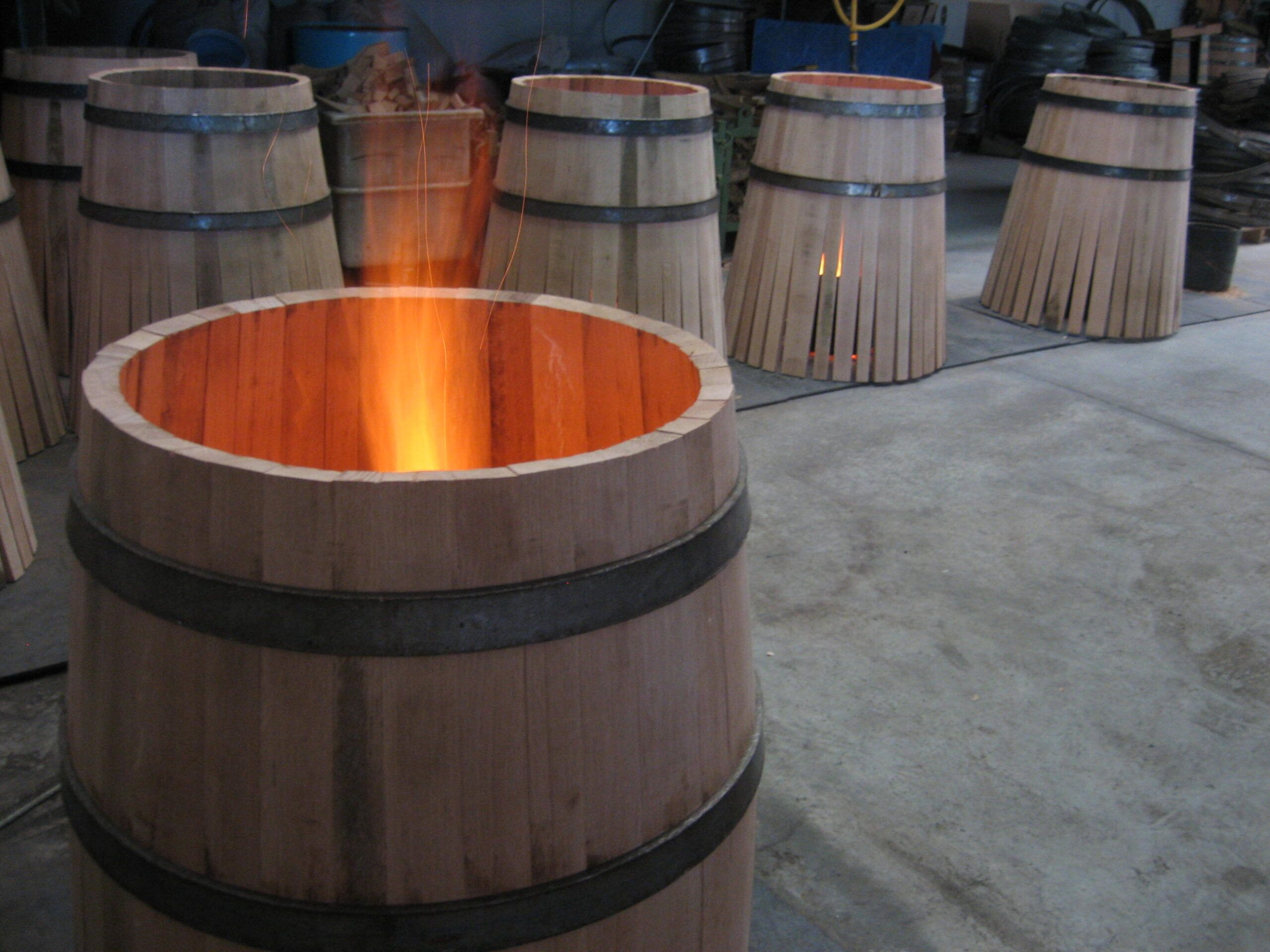 making barrels